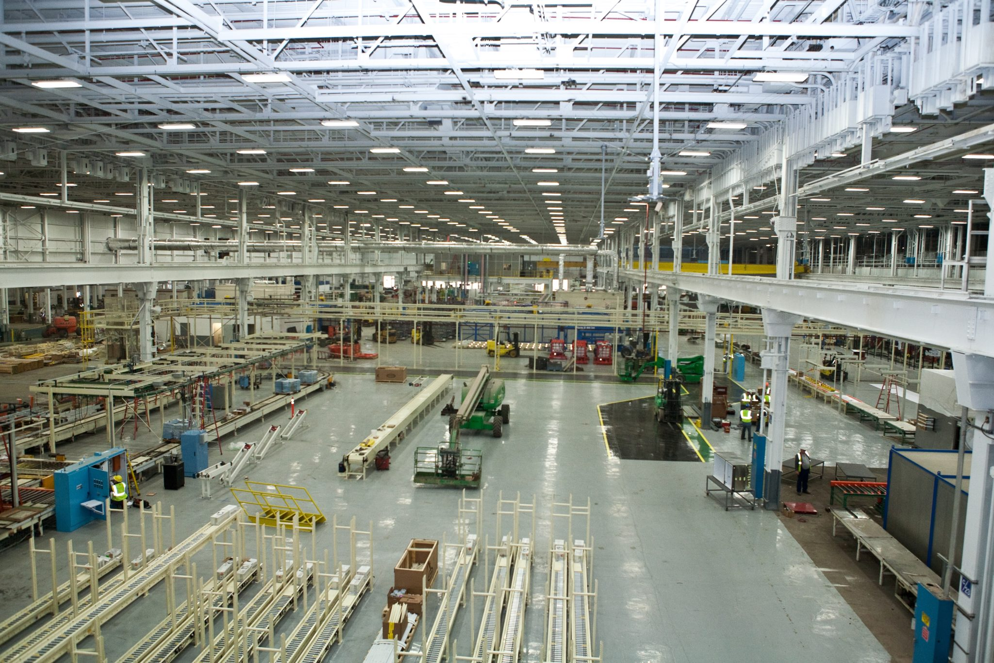 Industrial metal fabrication services